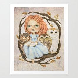 Autumn Tales Art Print