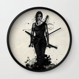Onna Bugeisha Wall Clock