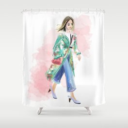 Streetstyle no 3 Shower Curtain