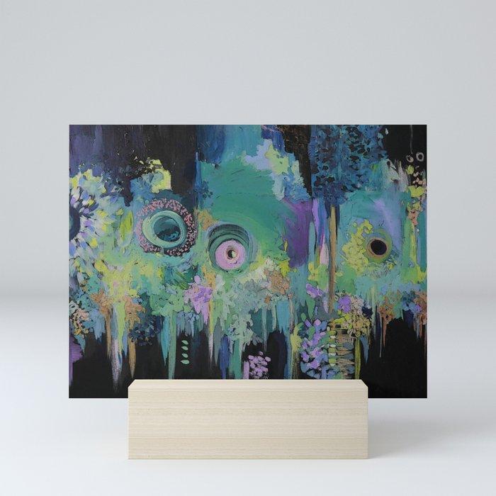Memory of a song at Midnight Mini Art Print