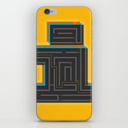 I for Itinerary iPhone Skin
