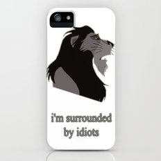 scar surrounded by idiots iPhone SE Slim Case