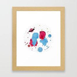supervalor space Framed Art Print