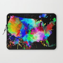 USA Grunge Laptop Sleeve