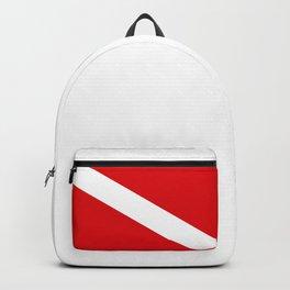 Diving flag Backpack