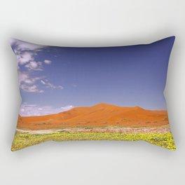 Flowers in the Namib desert, Namibia Rectangular Pillow