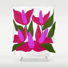 Purple Pink Marvels Shower Curtain