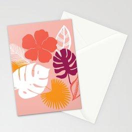 aloha, print Stationery Cards