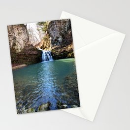 Alone in Secret Hollow with the Caves, Cascades, and Critters, No. 21 of 21 Stationery Cards