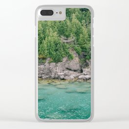 Islands of Tobermory Clear iPhone Case