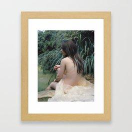 MerGirl Framed Art Print