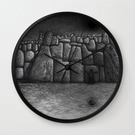 SACSAYHUAMAN Wall Clock
