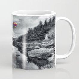 Above The Lake Coffee Mug