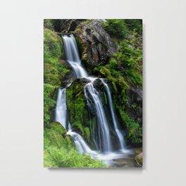 Triberg Falls Metal Print