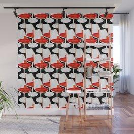 Pop Modern Colour Electric Chair Art Wall Mural