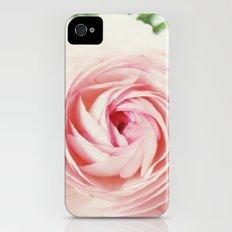Pink Ruffles iPhone (4, 4s) Slim Case