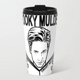 Spooky Mulder Trust no One Travel Mug