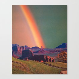 Colours I Can't See Canvas Print