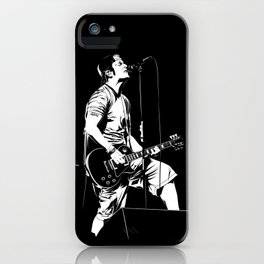T. S. B/W iPhone Case
