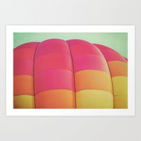 balloon Art Prints featuring Balloon by Jessica Torres Photography