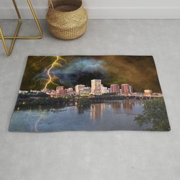 Stormy Richmond Skyline Rug