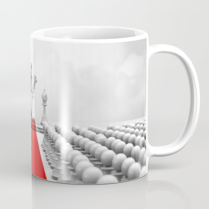 Wedding Chess / 3D render of checkmating ceremony Coffee Mug