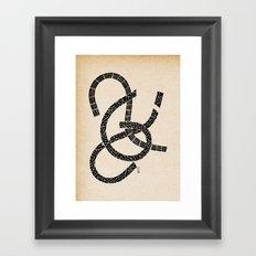 - lovers - Framed Art Print