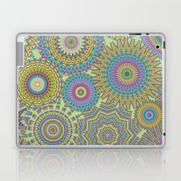 Kaleidoscopic-Jardin colorway Laptop & iPad Skin