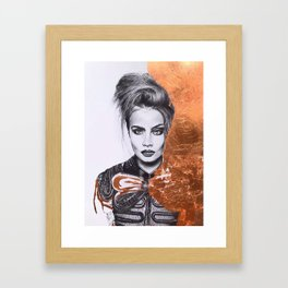 Chatoyant Framed Art Print