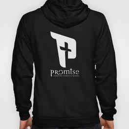 promise logo white Hoody