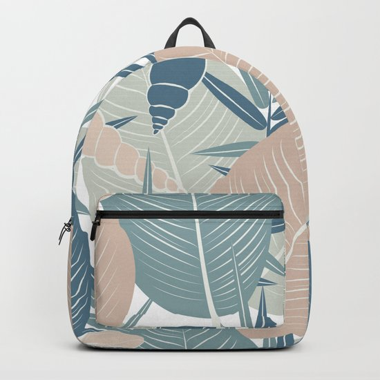 LEAVES AND SHELLS Backpack