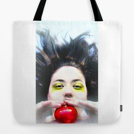 """Eve and Fruit"" (apple) Tote Bag"