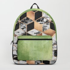 Birch Tree Cubes Backpack