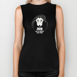 Jhin w/ quote Biker Tank