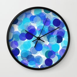 Polka Dot Kaleidescope 1. Wall Clock