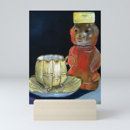 Tea and Honey Bear Mini Art Print