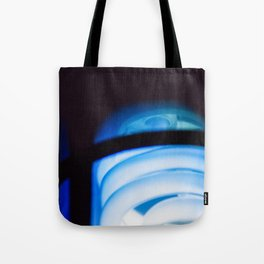 Blue Light District Tote Bag