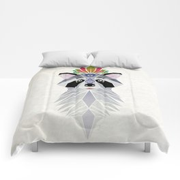 raccoon spirit Comforters
