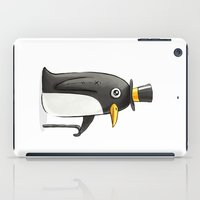 penguin iPad Cases featuring Penguin by Freeminds