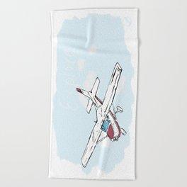 Just Plane Explore Beach Towel
