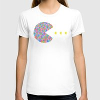 pacman T-shirts featuring pacman  by gazonula