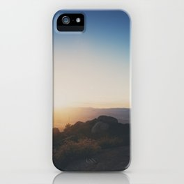 mountain road ... iPhone Case