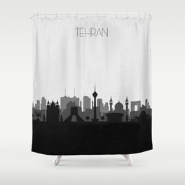 City Skylines: Tehran Shower Curtain