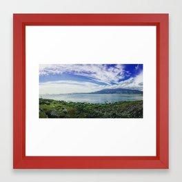 Vancouver Harbor Framed Art Print