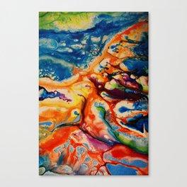 Coral Shore Canvas Print