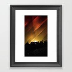 Spring Equinox 2011 Framed Art Print