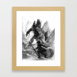 Connie and the Giant Framed Art Print