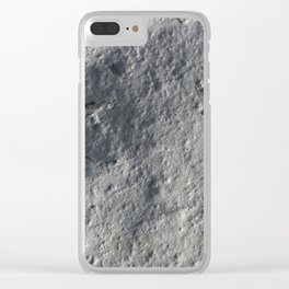 Rock Face Style Clear iPhone Case