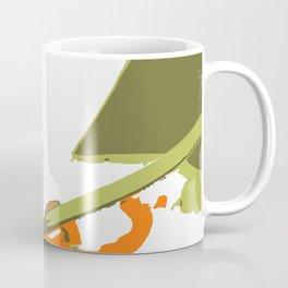 Luscious Lily Bold Graphic Pop Art Flower Print Coffee Mug