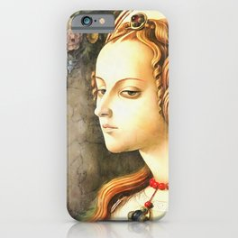 Carlo Crivelli remake of Magdalene iPhone Case